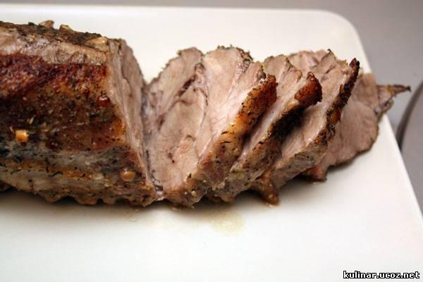 Рецепты печеного мяса с фото